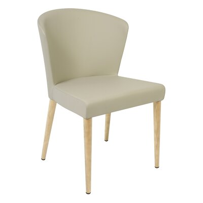 Verona Upholstered Dining Chair Finish: Unfinished, Upholstery: Taupe