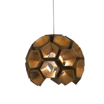 Constella 1-Light Globe Pendant Finish: Satin Nickel