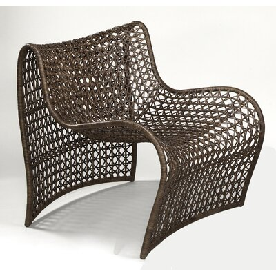 Lola Lounge Chair Color: Brown