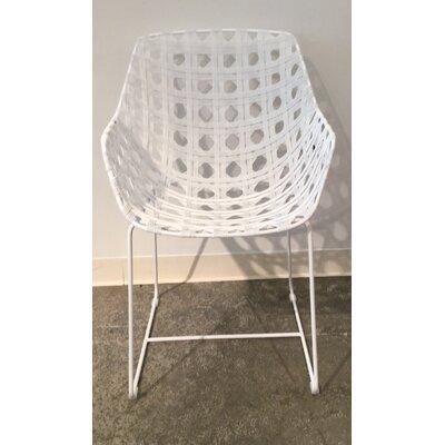 Schema Octa Arm Chair Finish: White