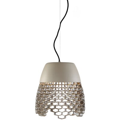 Schema High Boy 1-Light LED Mini Pendant Finish: Khaki