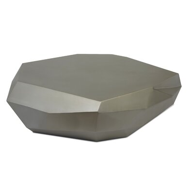 Cubico Coffee Table Finish: Antique Silver