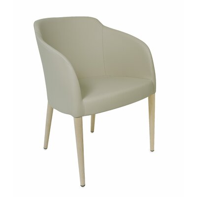 Estes Upholstered Dining Chair Upholstery: Taupe, Finish: Unfinished