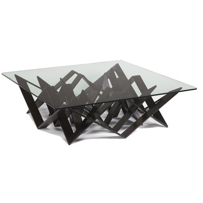 Futura Coffee Table Base Color: Dark Wenge
