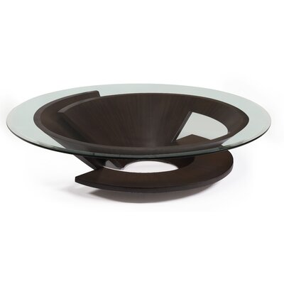 Nautilus Coffee Table Base Color: Wenge