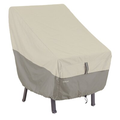 Belltown High Back Chair Cover Color: Gray