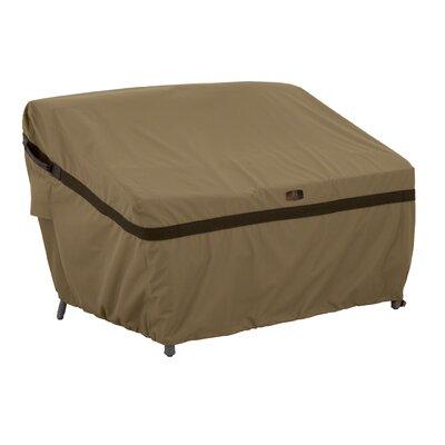 Hickory Heavy-Duty Sofa Loveseat Cover Size: Medium