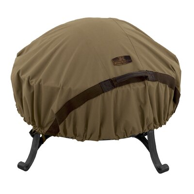Hickory Heavy-Duty Fire Pit Cover Size: Medium