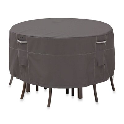 Ravenna Patio Table and Chair Set Cover Size: Large