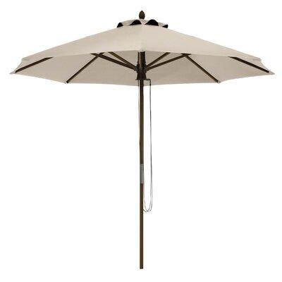 9 Montlake Classic Bamboo Market Umbrella Fabric: Antique Beige