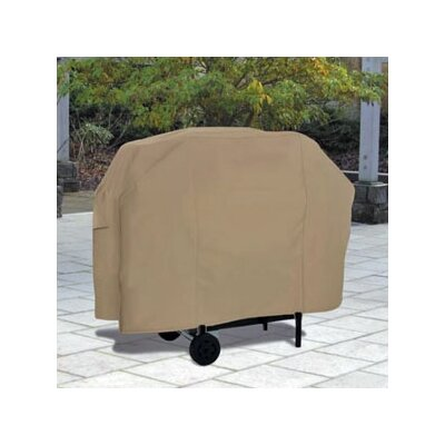 Cart Barbecue Grill Cover Size: Medium