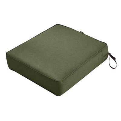 Montlake FadeSafe Rectangular Outdoor Lounge Chair Cushion Fabric: Heather Fern Green, Size: 5 H x 21 W x 25 D