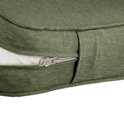 Countered Fadesafe? Outdoor Loveseat Cushion Fabric: Fern Green