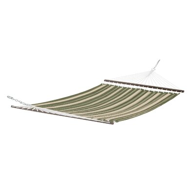 Josselyn Fadesafe? Quilted Hammock Color: Fern Green