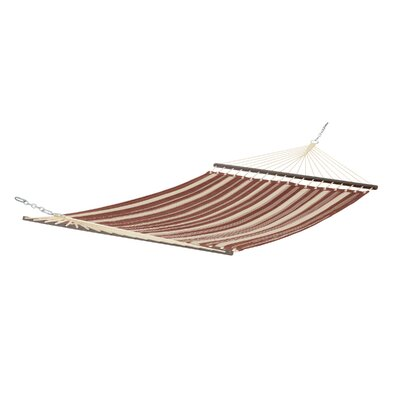 Josselyn Fadesafe? Quilted Hammock Color: Henna Red