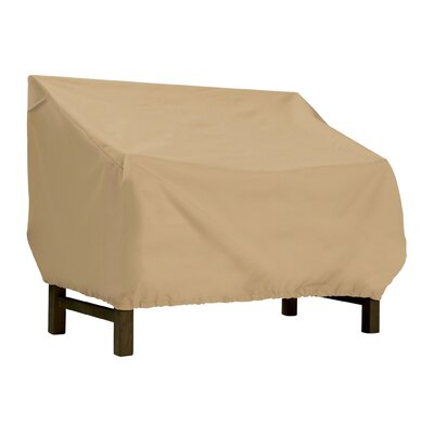 Terrazzo Patio Bench / Loveseat Cover Size: Medium