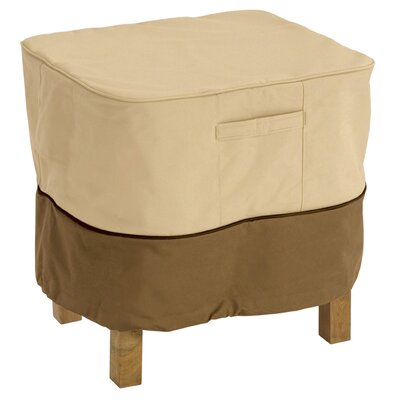 Veranda Ottoman / Side Table Cover Size: Large