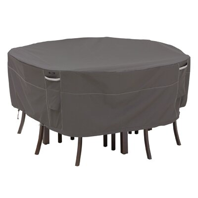 Ravenna Round Patio Set Cover Size: Tall
