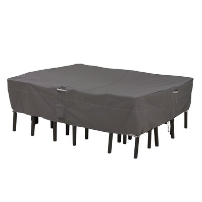 Ravenna Rectangular Patio Set Cover Size: Medium