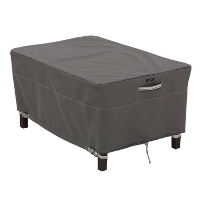 Ravenna Patio Ottoman / Side Table Cover Size: Small