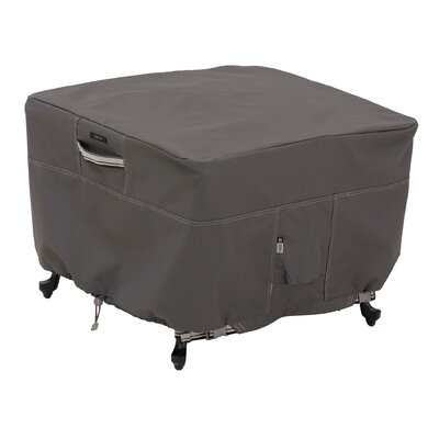 Ravenna Patio Ottoman / Side Table Cover Size: Large