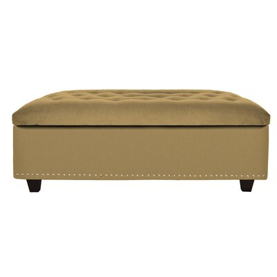 Cocktail Ottoman Upholstery: Wheat