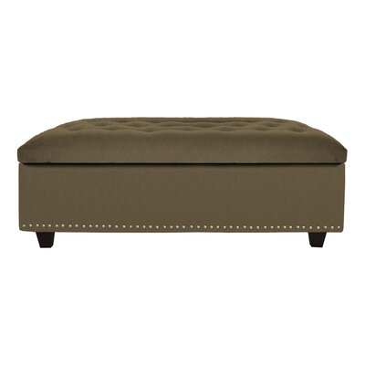 Cocktail Ottoman Upholstery: Cocoa