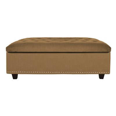 Sand Cocktail Ottoman Upholstery: Sand Golden