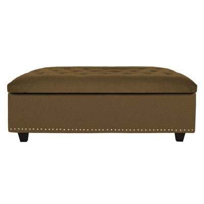 Cocktail Ottoman Upholstery: Coffee