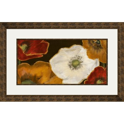 Beautiful Poppies II Framed Painting Print 2-11342b