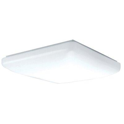 2-Light Flush Mount Size: 3 H x 20 W x 20 D