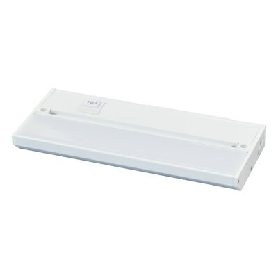 Noble Pro 9 LED Under Cabinet Bar Light Finish: White