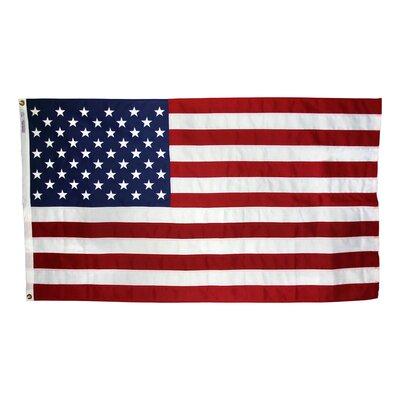 "Wall Mounted Flagpole Size: 60"" H x 114"" W"