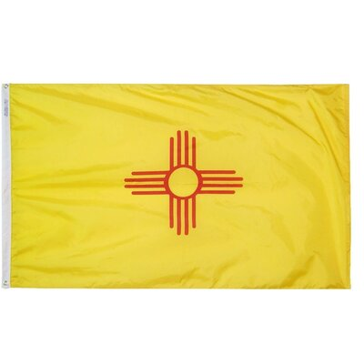 New Mexico State Flag Size: 3' x 5' 143760