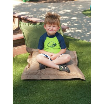 Any Weather Indoor/Outdoor Euro Pillow Color: Forest Green & Tan