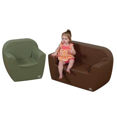 Preschool 2 Piece Kids Club Chair Set CF705-580
