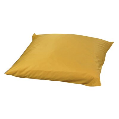 Friedensburg Floor Pillow Color: Yellow