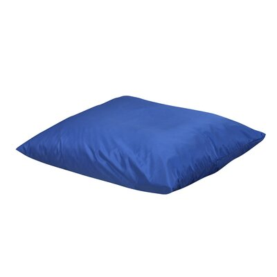 Friedensburg Floor Pillow Color: Blue