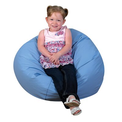 Cozy Woodland Bean Bag Chair Upholstery: Sky Blue
