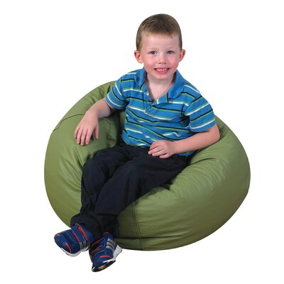 Cozy Woodland Bean Bag Chair Upholstery: Sage