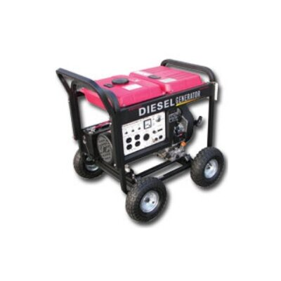 Cheap Eastern Tools and Equipment 4000 Watt Portable Diesel Generator (ETQ1004)