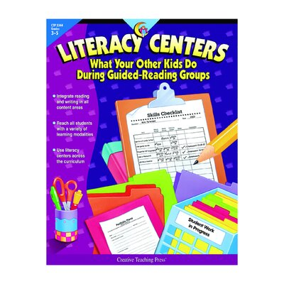 Literacy Centers Grade 3-5 Book CTP3344