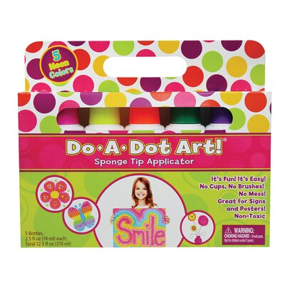 Do-a-dot Art Fluorescent 5 Pack DAD105