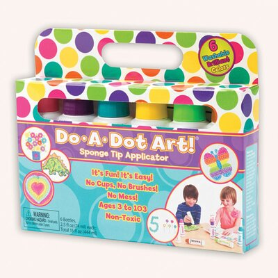 Do-a-dot Art Washable Brilliant 6pk DAD103