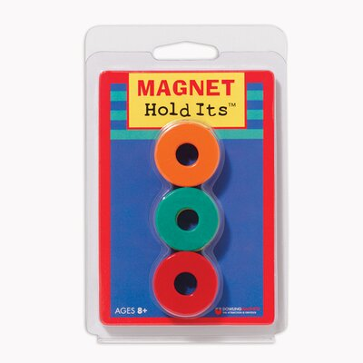 Six 1 1/8 Ceramic Ring Magnets (Set of 2)