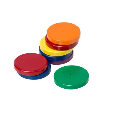 Eight 1 Ceramic Disc Magnets (Set of 2)