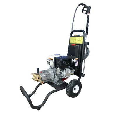Cam Spray 3000 PSI Cold Water Gas Pressure Washer with 9 HP Honda Engine