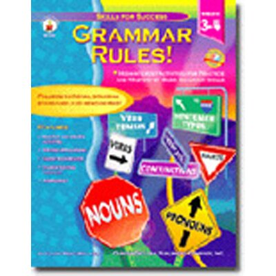 Grammar Rules Grade 3-4 Basic Book CD-4338