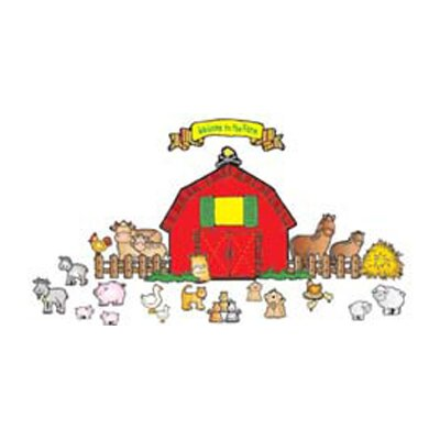 Farm Friends Bulletin Board Cut Out Set DJ-610028