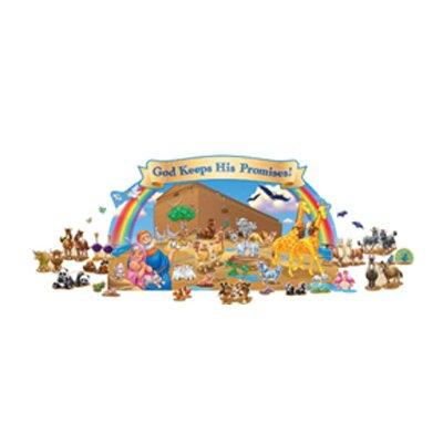 Noahs Ark Bulletin Board Cut Out CD-210013